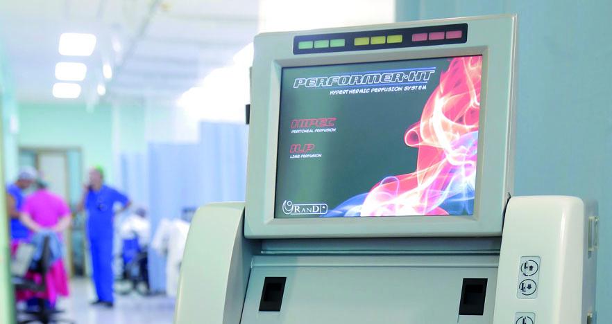 Moderna tecnología de quimioterapia con calor