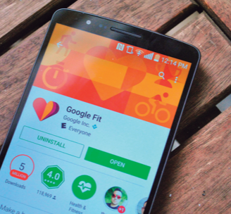 GOOGLE FIT Y HEALTHKIT